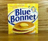 Box of Blue Bonnet Margarine — Stock Photo