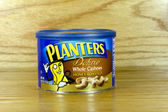 Can of Planters Whole Cashews — Foto Stock