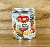 Can of Del Monte Fruit Cocktail — Stock Photo