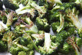 Roasted broccoli florets — Stock Photo