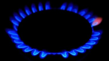Household gas — Stock Video