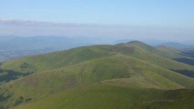 Carpathian mountains — Stock Video