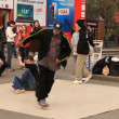 Young dance on the street - Stockfoto