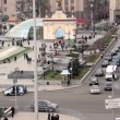 Stock Video: Square of independence in Kiev, Ukraine
