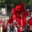 Communist political meeting — Stock Video
