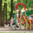 Childrens playground — Stock Video