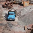 Stock Video: Dumper truck