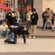 Break dancers — Stock Video