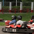Karting. Starting line — Stock Video