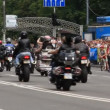 Bikers parade — Stock Video