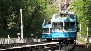 Cable railway — Stock Video