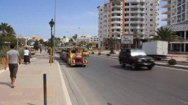 Na ulicy z sousse, Tunezja — Wideo stockowe