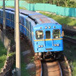 Blue train — Stock Video #13147992