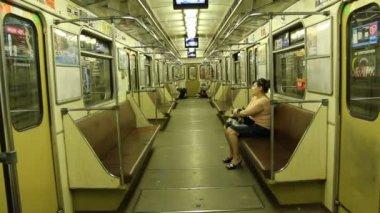Transit vehicle — Stock Video