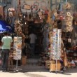Marketplace in medina, Tunisia, Sousse — Stock Video