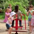 Children's playground — Vídeo de stock