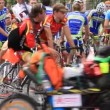 Cycle racing — Stock Video