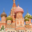 St. Basil's cathedral in Moscow — Stock Photo