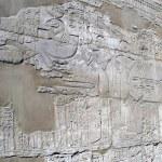 Karnak ancient temple of Egypt. Egyptian Hieroglyphics. Drawing — Stock Photo #13312999
