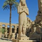 Statue of Ramses II in Karnak temple in Luxor, Egypt — Stock Photo