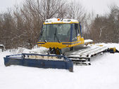 Snow-plough — Stock Photo