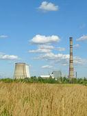 Big power station — Stock Photo
