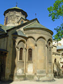 Very old church in Ukraine — Стоковое фото