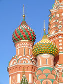 St. Basil's cathedral in Moscow — Stockfoto