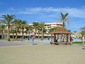 Hurghada, Egypt, belvedere, summerhouse — Stock Photo