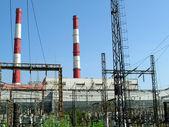 Estação de calor electropower — Fotografia Stock