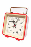Red alarm clock — Foto de Stock
