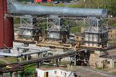 Power-generating boilers — Stock Photo