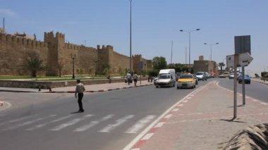 Street in Sousse, Tunisia — Stock Video