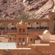 Stock Video: Saint Catherine's Monastery. Sinai. Egypt