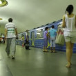 On metro station — Stock Video #13395874