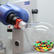 Stock Video: Auto chemistry analyzer