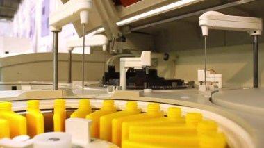 Chemical analysis laboratory — Stock Video