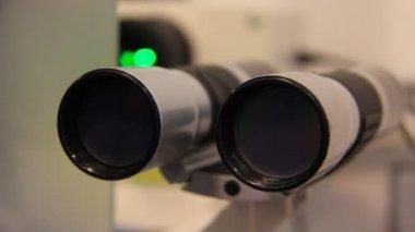 Apparatus for eyesight improvement — Stock Video
