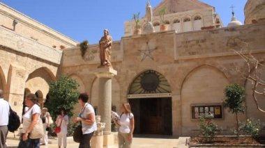 Kościół narodzenia pańskiego w betlejem, izrael — Wideo stockowe