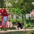 Stock Video: childrens playground