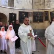 Stock Video: Holy Land. Bethlehem. Israel