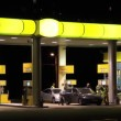 Stock Video: Filling station