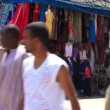 Stock Video: Oriental bazaar in Tunis