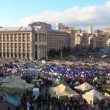 Protest meeting against Tax Codex Maidan Nezalezhnosti Kiev, Ukraine November — Stock Video