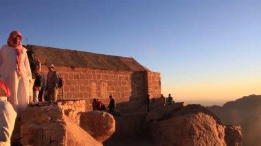 Musa dağı. sina yarımadası. mısır — Stok video