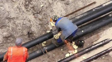 Insulated pipe line