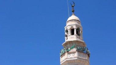 Sacred muslim prayer. Israel. Jerusalem — Stock Video