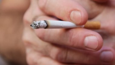 Rökare — Stockvideo
