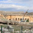 Amphitheatre of Hierapolis ancient city. Turkey — Stock Video