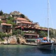 Stock Video: Voyage. Turkey Kekova-SimenRegion Western Taurus